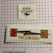 Power Products Ezee Start Engine Decal !!! Lauson Tecumseh