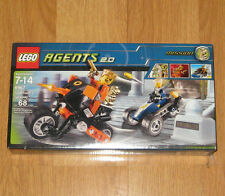 LEGO Agents 2.0 Gold Tooth's Getaway 8967 Brand New Sealed