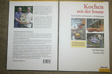 Fachbuch Kochen mit der Sonne, Bau von Solarofen, Solarkocher, Bauanleitung