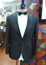 NEW LUXURY MENS FELLINI (jacket+ pant +tie) TUXEDO DINNER FIT SUIT CUSTOM