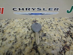 01-06 Dodge Ram New Key Blank With Ram Logo Mopar Factory OEM 5018690AB