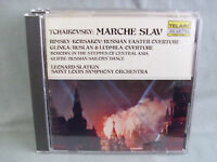 Tchaikovsky- Marche Slav & Other Russian Favorites- TELARC Japan 1982 WIE NEU