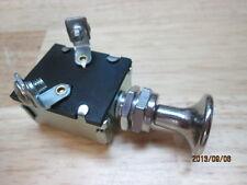 NEW BACK UP LIGHT FOG ACCESSORIE VINTAGE OLD LAMP 15 AMP SWITCH BIG KNOB SCTA