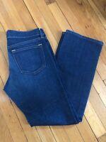 OLD  NAVY The  Diva Straight Leg Denim Blue Jeans Size 6 Short