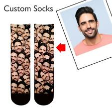 Funny Custom Face Socks Personalized Photo Socks Xmas Mothers Fathers Day Gift