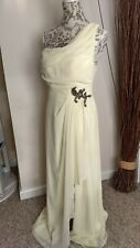 Beautiful Little Mistress Lemon Ballgown Prom Dress size 16