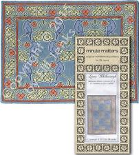 Miniature Rug Needlepoint Pattern - Lower Whilborough (Arts & Crafts Style)