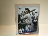 2018 Topps Update Babe Ruth Photo Variation Short Print SP Yankees US7