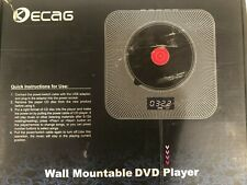 Wall Mountable HDMI DVD Player Speaker With Remote Control FAST FREE SHIPPING