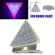24V Car Trailer Colorful Flash LED Rear Tail Lamp Triangle Brake Light Unviersal