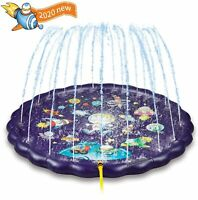 Splash pad Sprinkler for Kids, Sprinkle Play Mat, Sprinkler for Kids