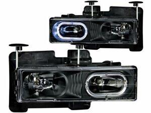 For 1992-1999 GMC K1500 Suburban Headlight Set Anzo 11529QH 1993 1994 1995 1996