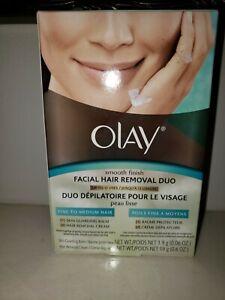 Olay Smooth Finish Facial Hair Removal Duo - Fine to Medium Hair - 1 Kit