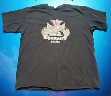 Vintage Choppers Since 1861 Motorcycle Mens T-shirt Iron Cross - XL