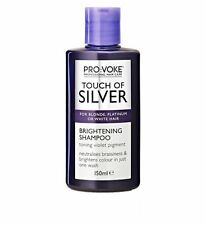 Touch Of Silver BRIGHTENING Shampoo 150ml For Blonde Platinum Grey Hair Tones