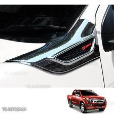 For Dmax Isuzu Ute D-Max Holden Fitt Chrome Side Vent Side Door Cover 12 - 17