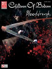 CHILDREN OF BODOM GUITAR TAB / TABLATURE / ***BRAND NEW*** / BLOODDRUNK