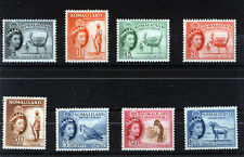 SOMALILAND 1953-58 DEFINITIVES SG137/144 MNH