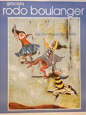 """GRACIELA RODO BOULANGER ART POSTER """"LOS DOMINGOS DE JULIETA"""" ~ 30"""" H x 22"""" W"""