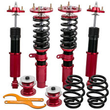 Complete Front + Rear Coilovers for BMW E46 3 Series Adjustable Height / Mounts