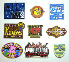 "Set of 9 Firefly/Serenity Large Lapel Pin Collection- 1.5"" to 2.5""-"