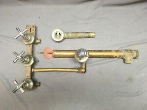 Antique Chrome Brass Bathtub Shower Faucet Plumbing 1290-13