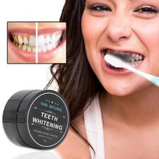 100 % Natural Activated Charcoal Whitening Tooth Teeth Powder Toothpaste 30g