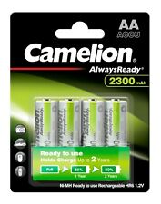 40 x Camelion Always Ready Akku AA Mignon HR6 1,2V NiMH 2300mAh - 10 x 4er VPE