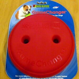 "Bark Busters GameChanger Treat Toy 6"" Diameter Red 2 Difficulties"