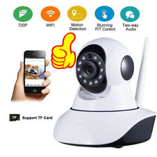 HD 720p Wireless IP PTZ WiFi Camera Security CCTV Night Vision iPhone Android HE