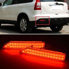 LED Rear Bumper Reflector Brake Fog Light Lamp For Honda CRV CR-V 2007 2008 2009