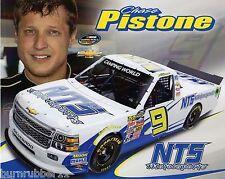 "2014 CHASE PISTONE ""NTS MOTORSPORTS"" NASCAR CAMPING WORLD TRUCK SERIES POSTCARD"