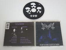 MAYHEM/DE MYSTERIIS DOM SATHANAS(DSP ANTI-MOSH 006) CD ALBUM