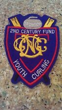 GNCC Grand National Curling Club 2nd Century Fund Youth Curling sponsor patch