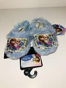 Disney Frozen ANNA & ELSA Girls Slippers