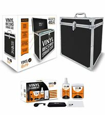 Vinyl Buddy 40LP Vinyl Storage Case + Vinyl Cleaning Kit