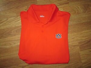 Mens UNDER ARMOUR HEAT GEAR AUBURN TIGERS collared golf polo shirt M Md Med