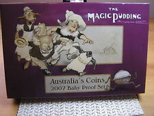 2007 Australia's Baby Proof Coin Set - Magic Pudding Series:C/V $275