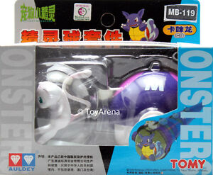 Auldey Tomy Pokemon MB-119 Mew w/ Masterball Figure