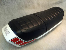 """YAMAHA RD250/400DX -E-F 1976-79 SEAT COVER FREE SEAT STRAP """"TOP QUALITY"""""""