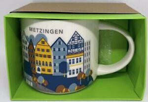 Starbucks You Are Here Collection Metzingen Germany Ceramic Coffee Mug New Box