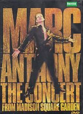 Marc Anthony The Concert From Madison Garden DVD NEW Sealed