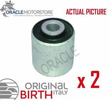 2 x BIRTH FRONT AXLE CONTROL ARM WISHBONE BUSH PAIR GENUINE OE QUALITY - 2144