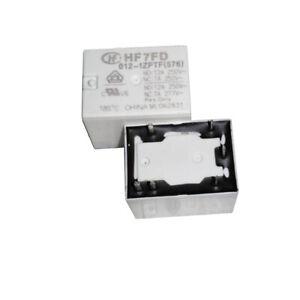 1Pc HONGFA HF7FD 012-1ZPTF(576) Power Relay 12A 250VAC 5 Pins New