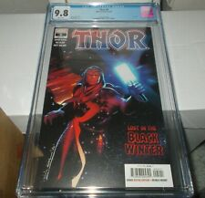 Thor #5 CGC 9.8 First print Black Winter