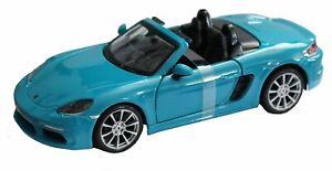 Porsche Boxster 718 Diecast Model Car