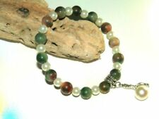 Agate Silver Plated Handcrafted Bracelets