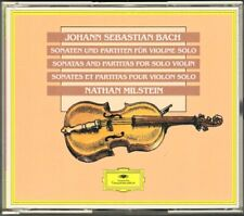 Nathan MILSTEIN: BACH Sonatas & Partitas for Solo Violin DG 2CD Sonaten Partiten