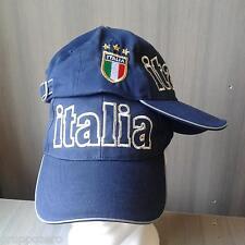 CAPPELLO italia NAZIONALE cappellino scudo TRICOLORE calcio SPORT Royal Hats