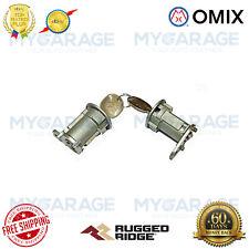 Omix-ADA For 76-90 Jeep Cherokee / Wrangler / CJ-5 / CJ-7 Door Lock Cylinder Kit